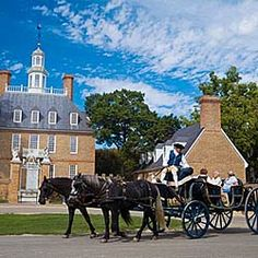 Williamsburg, Virginia   ~ really like this town.  We've gone several times now.