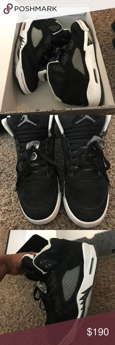 Jordan Retro Oreo 5 Jordan Retro Oreo 5 no suede flaws. Air Jordan Shoes Sneakers
