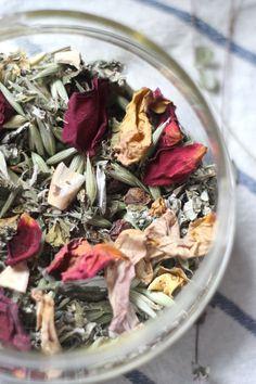 Day 1 Tea – Yarrow, Peony and Raspberry Tea for, well, Day 1 Raspberry Leaf Tea, Anti Inflammatory Recipes, Tea Blends, Fun Cocktails, Tea Ceremony, Herbal Tea, Cooking Tips, Tea Time, Tea Pots