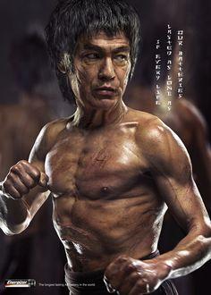Andrzej Dragan: Energizer / Bruce Lee