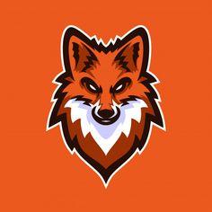 Logo Esport, Fox Logo, Logo Circular, Gaming Logo, Sheep Logo, Fuchs Tattoo, Logo Template, Sports Team Logos, Game Logo Design