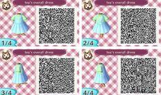 Tea's overalls dress