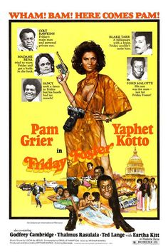 Friday Foster (1975) Blaxploitation/Pam Grier