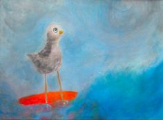 James and the Giant Peach seagull