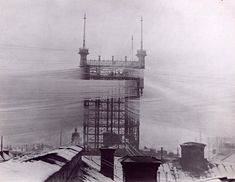 A 19th Century Telephone Network Covered Stockholm in Thousands of Phone Lines  http://www.thisiscolossal.com/2014/09/telefontornet-stockholm/