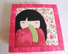Caixa Patch Embutido Kokeshi