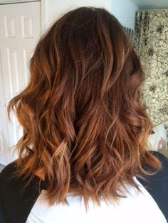 New hair balayage before and after long bobs Ideas Red Ombre Hair, Hair Color Auburn, Red Hair Color, Cool Hair Color, Color Red, Langer Bob Balayage, Langer Bob Ombre, Auburn Balayage, Hair Color Balayage