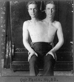 #Doppelganger circa 1901: Trick Photograph of a Man with 2 Heads Curated by Amanda Uren