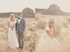 Romantic, Dreamy Bridals In The Utah Desert | Bridal Musings - <2 the photography
