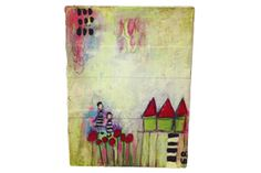 Mixed Media Canvas      by Emily Block Learn how to combine several mediums and create a mixed media canvas.