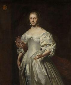 Cornelis Janssens van Ceulen (II): Portrait of Cornelia Craen van Haeften (1622-1678), 1663-1678
