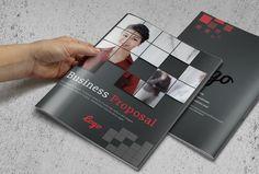Business Proposal Template by pmvchamara on @creativemarket