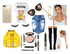 """Moschino"" by fashionect ❤ liked on Polyvore featuring Moschino, Jeffrey Campbell, NARS Cosmetics and Speck"