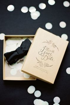 Tired of traditional save the date cards? Click through for 20 non-traditional pre-invites for your big day: