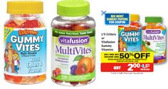 Vitafusion and L'il Critters Discount Coupon