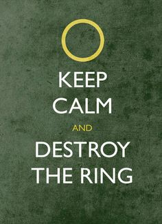 This made me laugh!  I do love the LOTR movies.