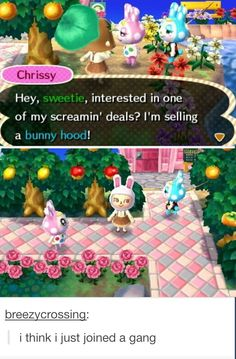 Lol my character is wearing that right now with a pastel striped dress