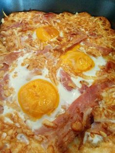 Yummy Food, Tasty, Food 52, Hawaiian Pizza, Ham, Nom Nom, Bacon, Food And Drink, Dishes