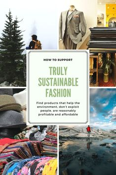 Truly Sustainable Fashion - Women's style: Patterns of sustainability Ethical Fashion, Slow Fashion, Vegan Fashion, Fashion Tips, Fashion Design, Sustainable Clothing, Sustainable Fashion, American Made Clothing, Green Living Tips