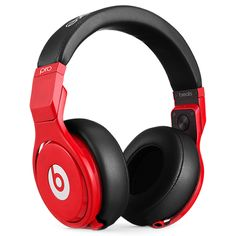 Beats Pro headphones sound so good because they bring back the quality lost in modern-day file compression. You'll hear music the way it was originally heard by the artist in the studio. Clear highs a