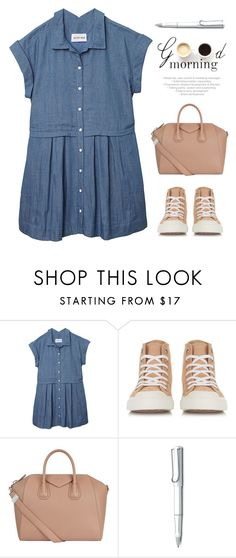 """""""take a break"""" by lana-drazic-posao ❤ liked on Polyvore featuring Olive + Oak, Chloé, Givenchy, LULUS and Lamy"""