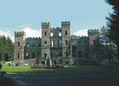 Loudoun Castle, Ayrshire, Scotland Home of Clan Crawford