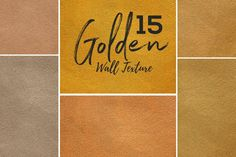 15 Golden Wall Texture by sagesmask on Envato Elements Art Design, Logo Design, Graphic Design, Pantone, Golden Wall, Grunge, Web Design Tutorials, Texture Design, Textured Walls