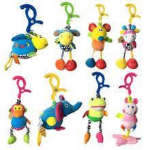 Rattles 2019 Latest Design 0-12 Months Baby Rattles Toy Intelligence Grasping Gums Plastic Animal Music Can Be Repeatedly Remolded. Toys For Baby