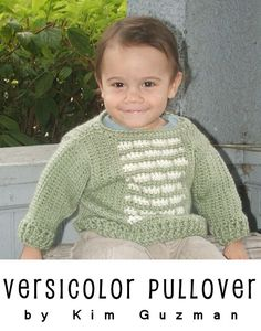 New Free Pattern: Infant Versicolor Pullover | WIPs 'N Chains