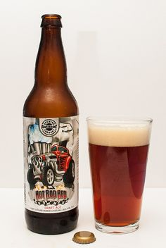 HotRod Irish red ale - Aviator Brewing Company, Fuquay-Varina, North Carolina