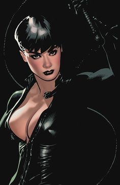 Catwoman - Adam Hughes