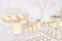 Monochromatic Dessert Buffet