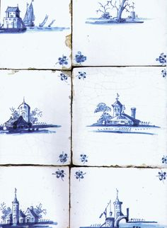LilyOake: Lovely Old Delft Tile