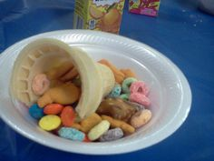 Olympic torch VBS snack