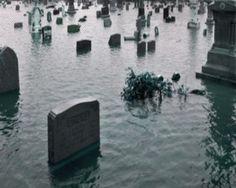 Cemetery... Submerged.