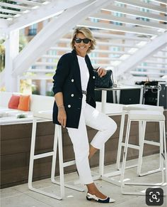 over 50 fashion over 50 ideas Over 60 Fashion, Mature Fashion, Over 50 Womens Fashion, Fashion Over 50, Plus Fashion, Mode Outfits, Fashion Outfits, Fashion Trends, Mode Ab 50