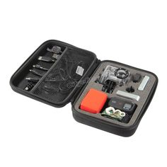 Storage Carry Hard Case Bag Box For GoPro HD Hero 3+ 3 2 Go Pro Accessories Blac