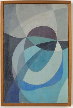 Willys de Castro Pierrot, 1953, óleo sobre tela, 33 x 22 cm (Foto: Divulgação)