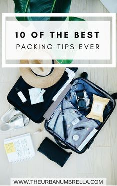 10 simple tips to make packing for your next trip a breeze!