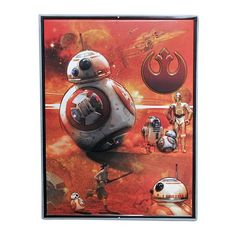 Star Wars: Episode VII The Force Awakens BB-8 Tin Sign⎜Open Road Brands