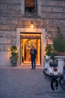New Entrance to Rubinacci