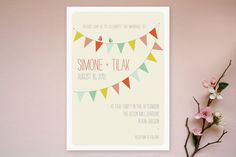 barn party invites from minted (REVEL Picks: Whimsical Wedding Invitations)