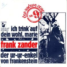 Frank Zander, Memories, Cover, Music, Vinyl Records, Youth, Childhood, Memoirs, Souvenirs