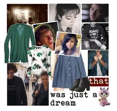 """that was just a dream"" by elliewriter ❤ liked on Polyvore featuring art and elliewriterblogstory"