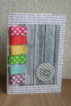 Cards by Juisie: Washi week #5