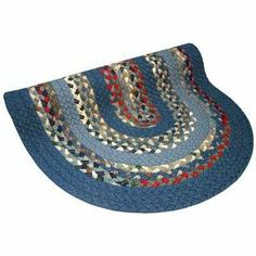 Thorndike Mills Minuteman Blue/Red Multi with Light & Dark Blue Solids Multi Rug 2' x 3' by Thorndike Mills. $140.00. 1888-53-2FTX3FT Rug Size: 2' x 3' Features: -Sewing thread is a spun polyester with a cotton warp.-Sewing thread is a spun polyester with a cotton wrap.-Characteristic of cotton, combined with strength of polyester will not unravel over time.-Lock stitched method to prevent unraveling if a stitch should happen to break.-Reversible and durable cloth braid containi...