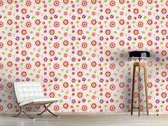 Design #Tapete Marienkäfer