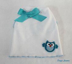 Little Blue Owl Dog Shirt Clothes Size XXXS through Medium by Doogie Couture on Etsy, $12.50