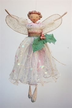 Frosted Holly Treetop Fairy - Dawn - £45.20