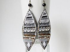 Ethnic Earrings Ethnic Jewelry Tribal by AdornmentsbyDebbie, $34.00